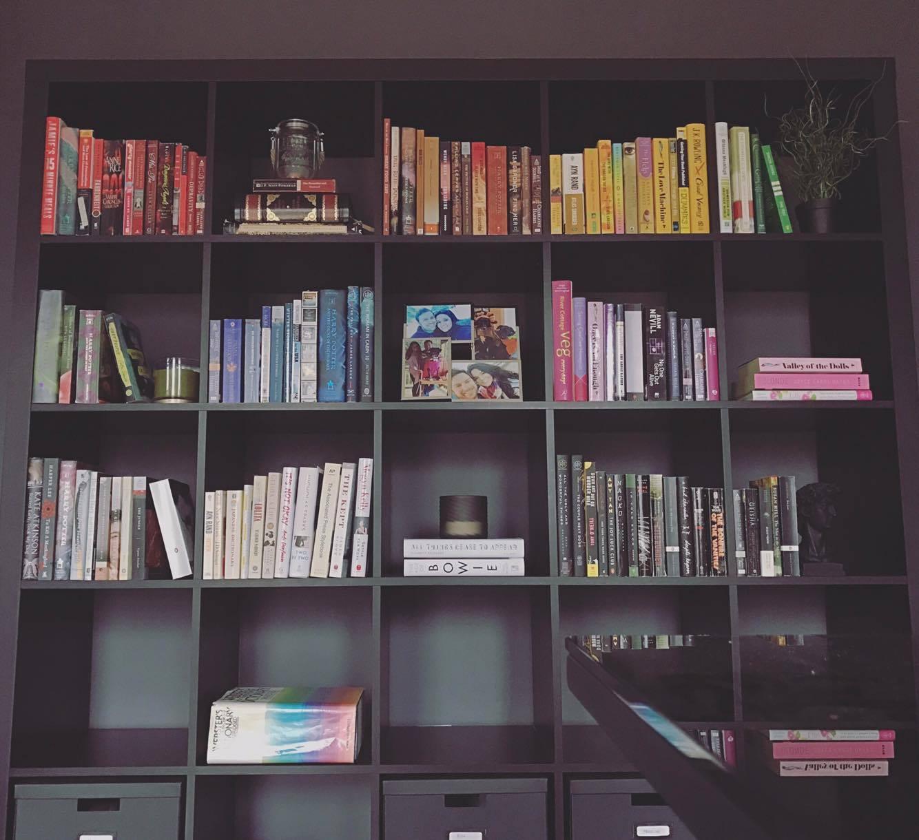 Decor Diy Rainbow Bookshelves Accidental Suburbanites