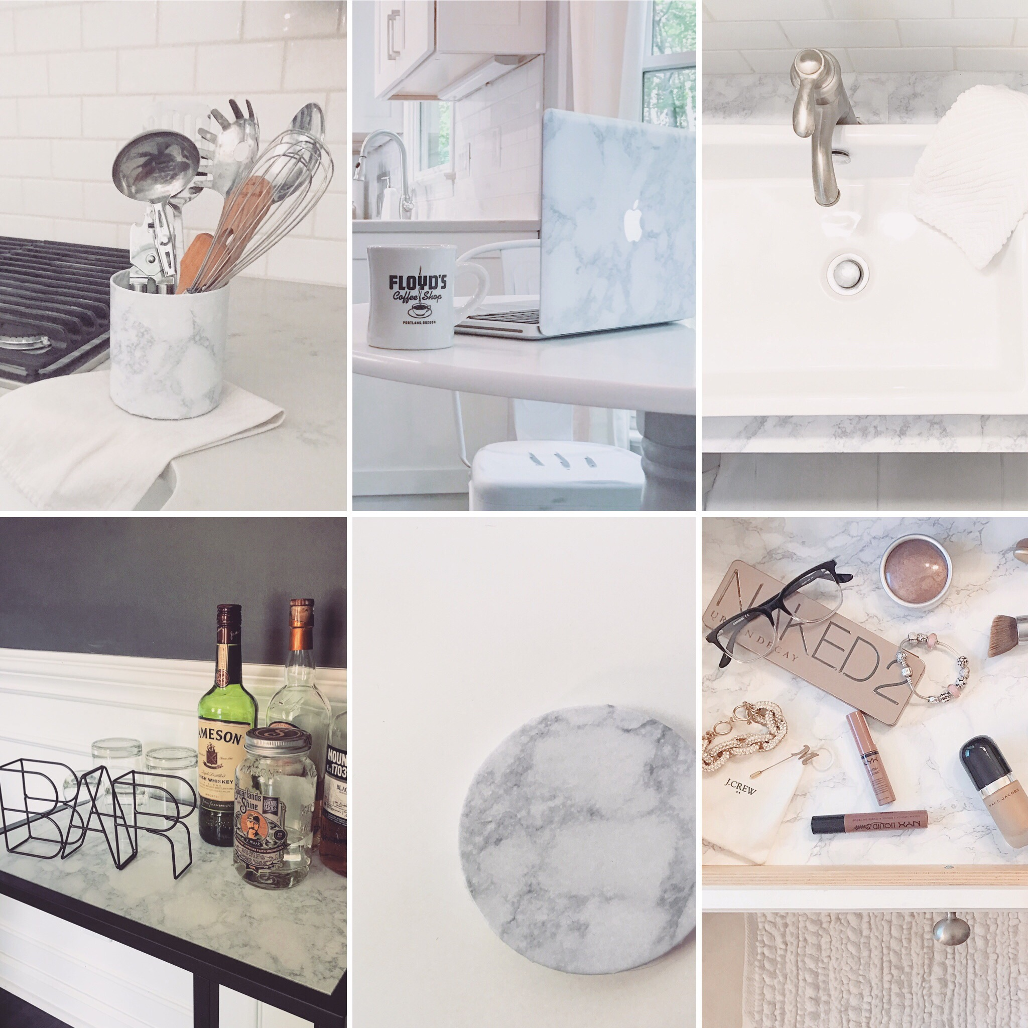 Superb DIY Hack: 6 Ways To Transform Your Decor With Marble Contact Paper